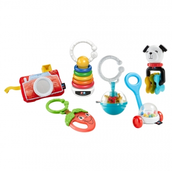 Fisher-Price - Pack de Sonajeros Surtidos