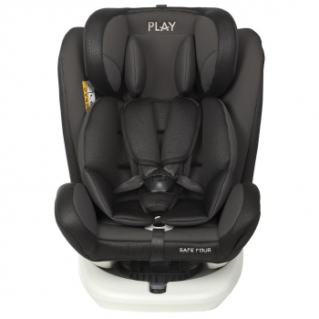 Silla de Coche Grupo 0+/1/2/3 Contramarcha Safe Four Isofix con Top Tether Giratoria 360º Play