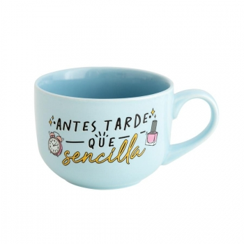 Taza - Antes Tarde que Sencilla Mr. Wonderful