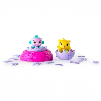 Hatchimals - Set Coleccionable de 2 Figuras