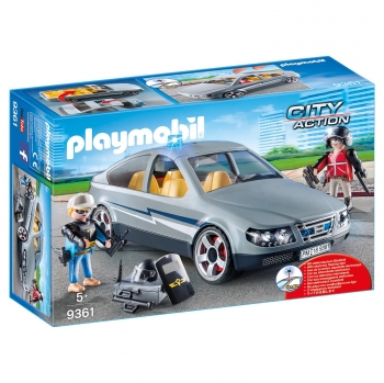 Playmobil City Action - Coche Civil de las Fuerzas Especiales