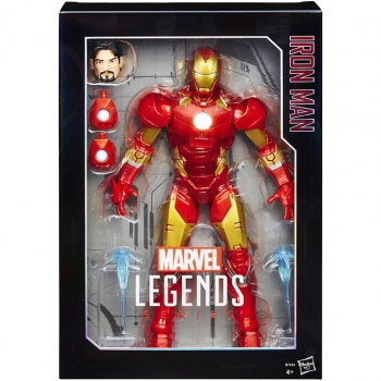 Hasbro- Marvel Legends Iron Man