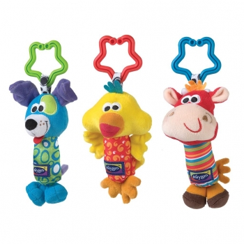 Trio Animalitos Playgro