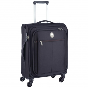 Trolley 55Cm Pin Up 4Ruedas Cabina Slim Negro Tsa