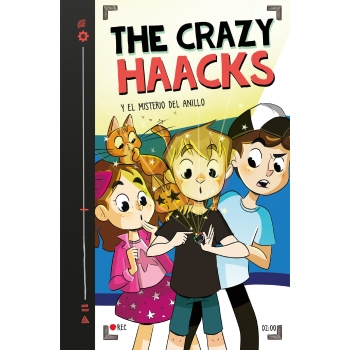 The Crazy Haacks y el Misterio del Anillo. Serie The Crazy Haacks 2. THE CRAZY HAACKS