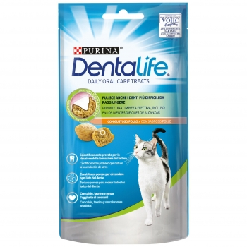 Purina Dentalife Snacks para Gato Sabor Pollo 40g