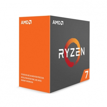 Procesador AMD AM4 Ryzen 7 1800X 8X4.0Ghz 20MB BOX