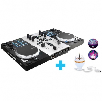 Mesa de Mezclas Hercules DJControl Air S Party Pack