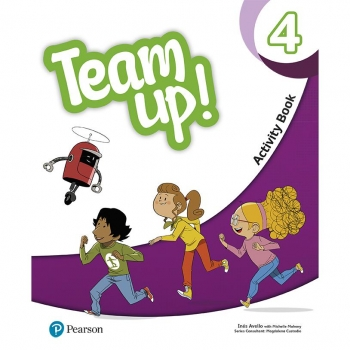 TEAM UP! 4 ACTIVITY BOOK PEARSON DISTRIBUCIÓN