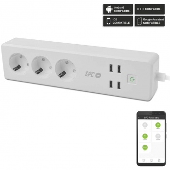 Regleta Inteligente SPC Clever Power Strip 6202B