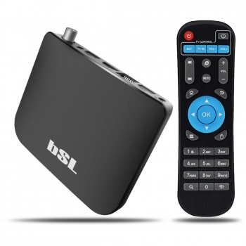 Caja Android con TDT for Hibrid TV BSL