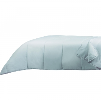Relleno Nórdico Doble con Corchetes TEX HOME Cuatro Estaciones Cama 160-180 cm Blanco
