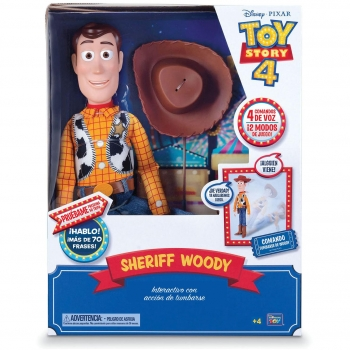Toy Story 4 - Woody Interactivo