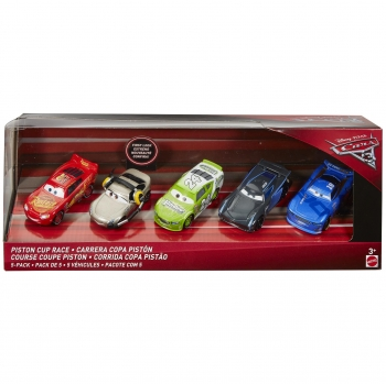Pack 5 Cars 3 Die Cast - Carrefour
