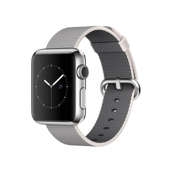 Apple Watch 38mm (1º gen) con Caja de Acero Inoxidable en Plata y Correa Milanese