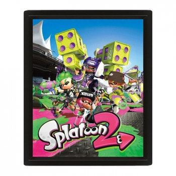 Poster 3D Splatoon 2