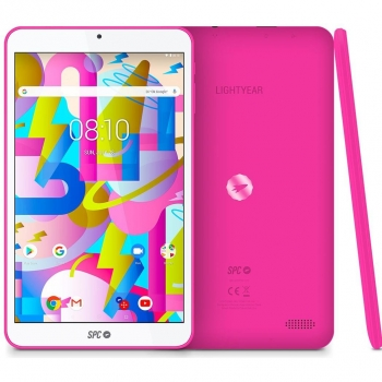"Tablet SPC Ligthyearcon Quad Core, 2GB, 16GB, 20,32 cm - 8"" - Rosa"