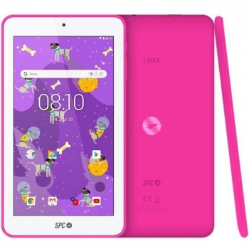 "Tablet SPC Laika con Quad Core, 1GB, 8GB, 17,78 cm - 7"" - Rosa"
