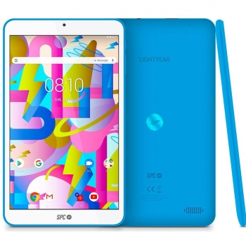 "Tablet SPC Ligthyear con Quad Core, 2GB, 16GB, 20,32 cm - 8"" - Azul"