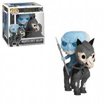 Figura Funko Pop! POP Rides: Game of Thrones S10 - White Walker on Horse