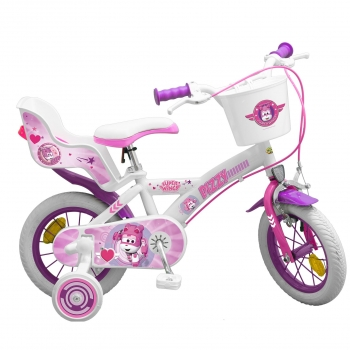 "Bicicleta 12"" Super Wings Rosa"