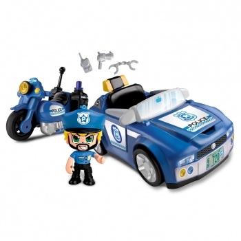 Pinypon Action - Coche Policia Pinypon Action