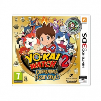 Yo-Kai Watch 2: Carnánimos Edicion Normal para 3DS