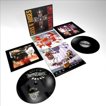 Appetite For Destruction Locked and Loaded. GUNS N´ROSES. 2LP
