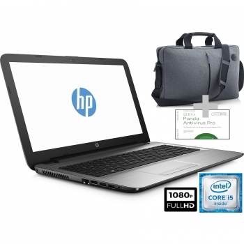 Portátil HP 250 G5 con i5, 4GB, 500GB, 39,62 cm - 15,6'' con Maletín HP 39,62 cm - 15,6'' y Panda Antivirus. Outlet. Producto Reacondicionado