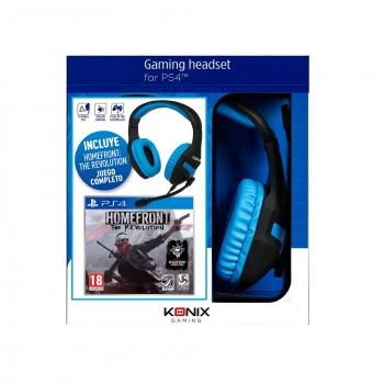 Konix Headset Gaming PS4 con el juego Homefront The Revolution