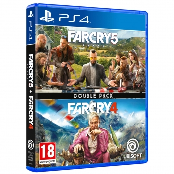 Double Pack Far Cry 4 + Far Cry 5 para PS4