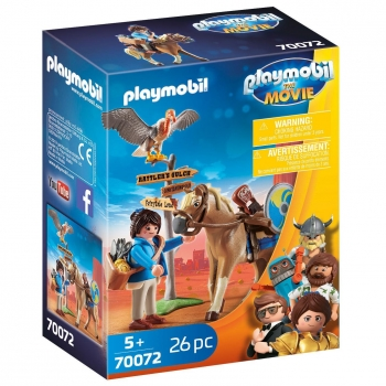 PLAYMOBIL The Movie - Marla con Caballo