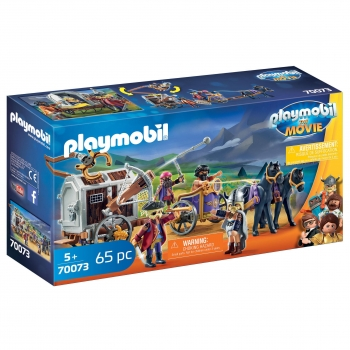 PLAYMOBIL The Movie - Charlie con Carro Prisión