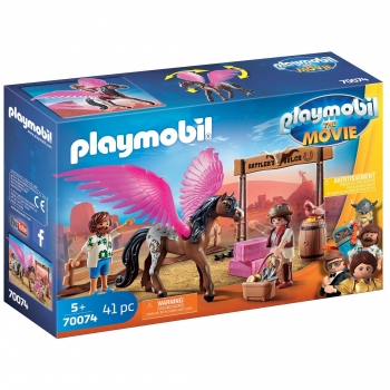 PLAYMOBIL The Movie  - Marla, del y Caballo con Alas