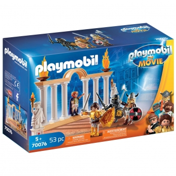 PLAYMOBIL The Movie - Emperador Maximus en El Coliseo