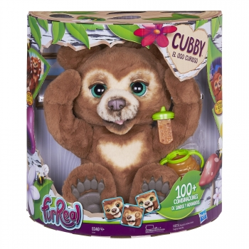 FurReal Friends - Cubby, Mi Oso Curioso