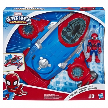 Marvel - Mega Mighties Jetquarters Spiderman