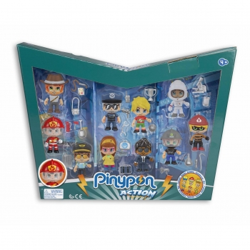 Pin y Pon Action - Pack 10 Pinypon Action