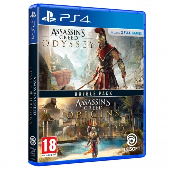 Pack Assassin's Creed Odyssey con Assassin's Creed Origins para PS4