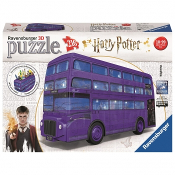 Puzzle 3D - Puzzle Bus Harry Potter