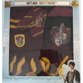 Pack Harry Potter Caja Regalo Kids Gryffindor