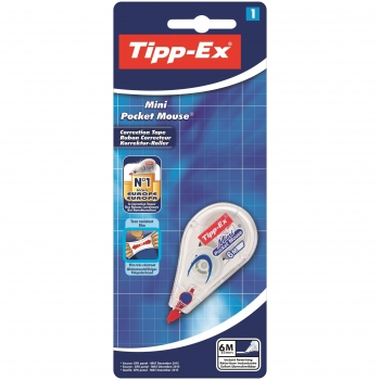 Corrector Bic Tipp-Ex Mini Pocket Mouse Standard