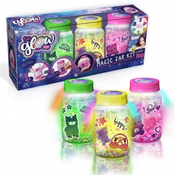 So Glow - Magic Jar 3 Pack