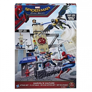 Hasbro- Spiderman Vulture Set de Ataque