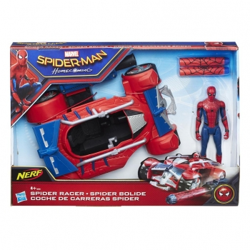 Hasbro- Spiderman Web City Vehículo 15 cm