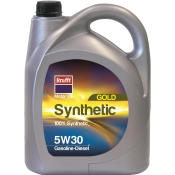 Aceite Motor Krafft Synthetic Gold 5W30 Gasolina/Diesel 5L