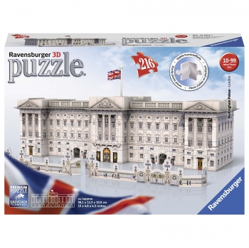 Puzzle 3D - Buildings Buckingham Palace