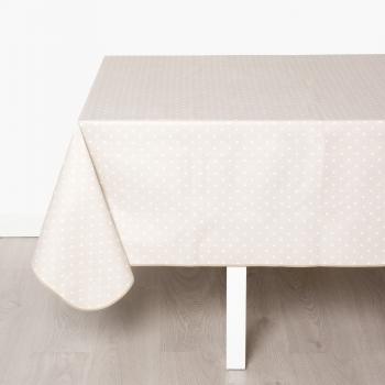 Mesas con mantel mantel puntos amarillos x cm unidad - Vajilla cuadrada carrefour ...