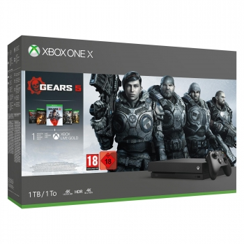 Xbox One X 1TB con Gears Of War 5