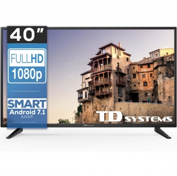 "TV LED 101,6 cm (40"") TD Systems 40DLM8FS, Full HD, Smart TV"